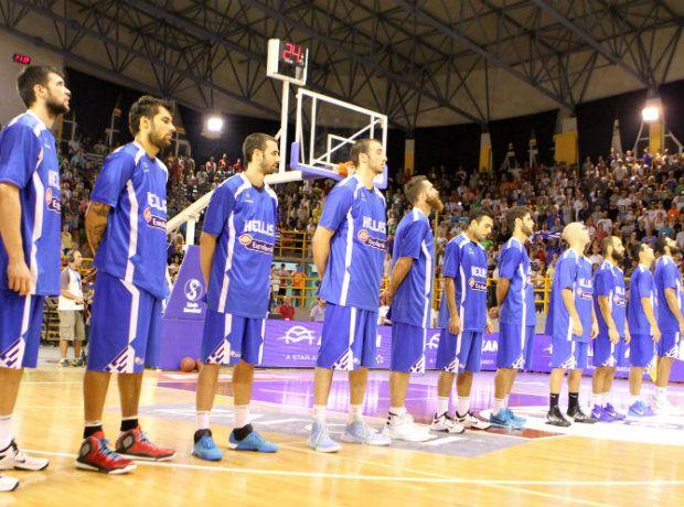 Η 12άδα της Εθνικής Μπάσκετ