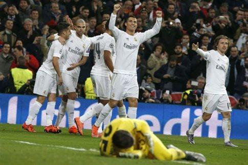 Πρόκριση στους «8» για Ρεάλ Μαδρίτης και Βόλφσμπουργκ
