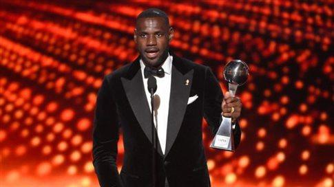 Σάρωσε στα αθλητικά βραβεία του «ESPN» ο ΛεΜπρόν Τζέιμς