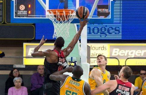 «Κλείδωσε» την πρωτιά ο Ολυμπιακός, 76-67 τη Λιμόζ