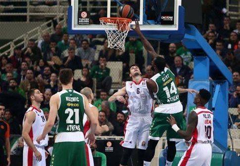 Παναθηναϊκός - Ερυθρός Αστέρας (63-74 τελικό)